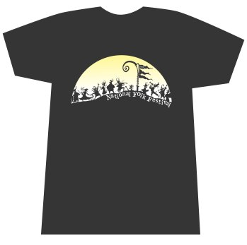 2013 National Folk Festival T-shirt