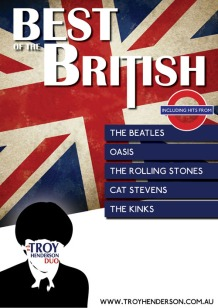 Best of the British concept show poster (2012)