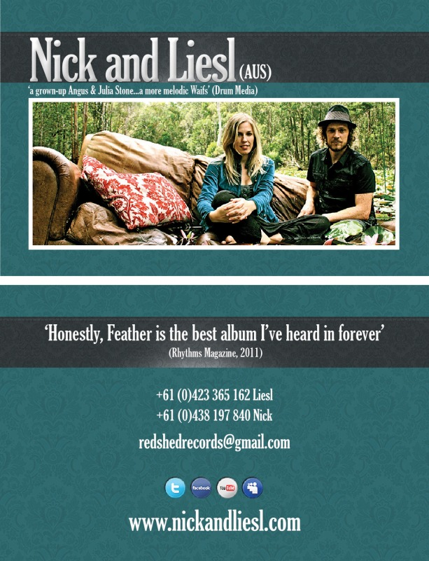 Nick & Liesl Business Card (double sided)