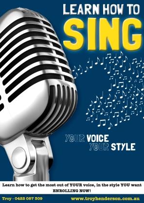 Singing poster (2011)