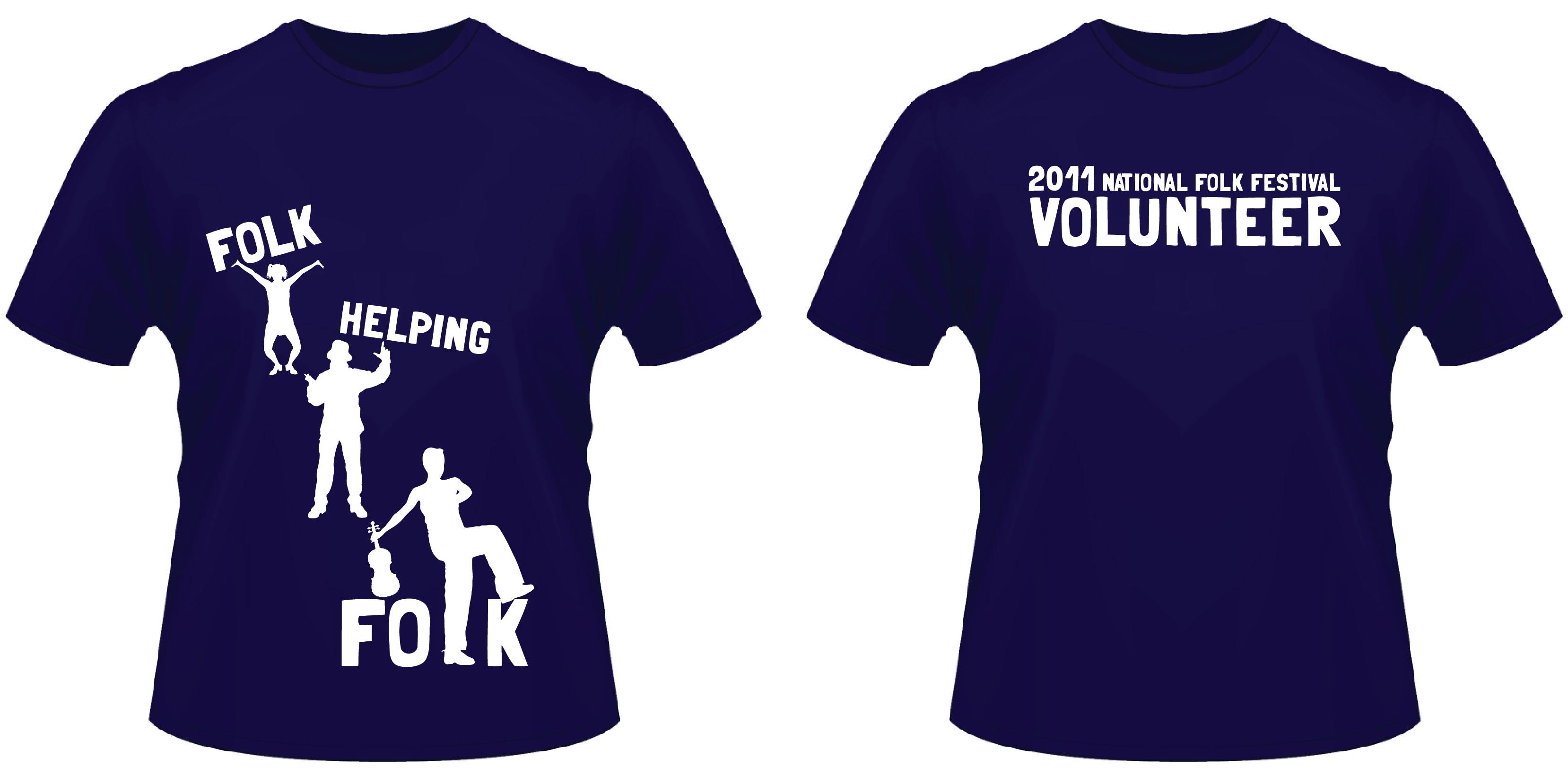 creative t shirt design ideas national folk festival volunteer t shirt 2011 jess creative t shirt design ideas - Ideas For T Shirt Designs
