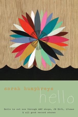 Sarah Humphreys - Hello Postcard (front)