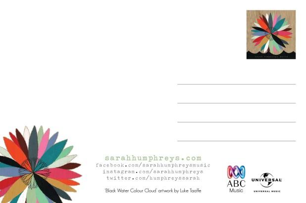 Sarah Humphreys - Hello Postcard (back)