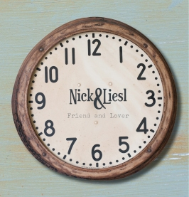 Nick & Liesl - Friend & Lover EP artwork (cover)